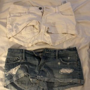 Hollister shorts BOTH FOR $15